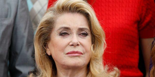 Catherine Deneuve à Cannes le 23 mai