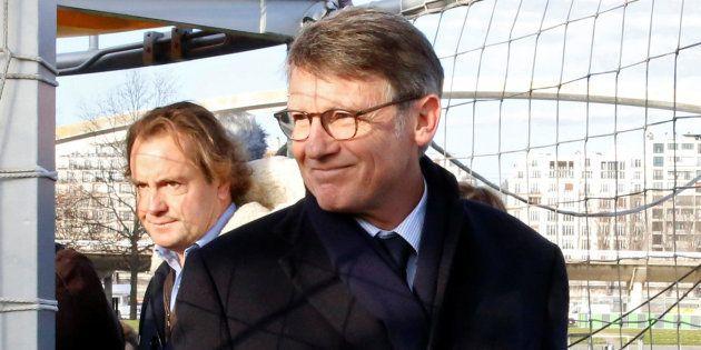 Vincent Peillon le 16 décembre à Paris. REUTERS/Jacky