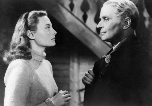 Michèle Morgan et Pierre Blanchar en 1946 dans