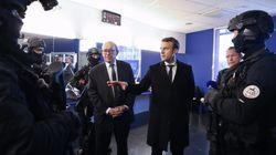 A Nantes, Macron s'affiche avec le Raid chargé de sa