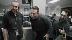 Avec Elon Musk à la minute où il voit son rêve spatial devenir