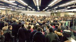 Le trafic du RER A toujours bloqué à cause de