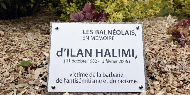 La stèle en hommage à Ilan Halimi avant d'être