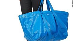 Ce sac Balenciaga à 1695 euros ressemble au sac Ikea à 80