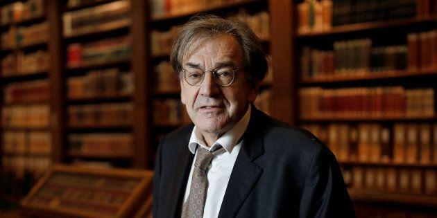 Alain Finkielkraut se trompe de candidat! REUTERS/Benoit