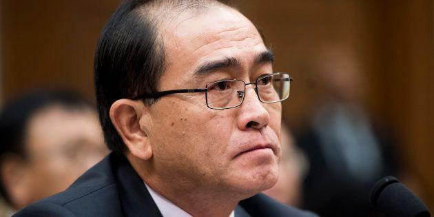 Le dissident nord-coréen Thae