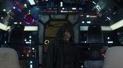 Luke Skywalker de retour dans le Faucon Millenium dans le nouveau trailer de