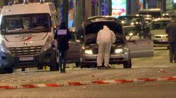 Les suites de l'attentat des Champs-Élysées contre des