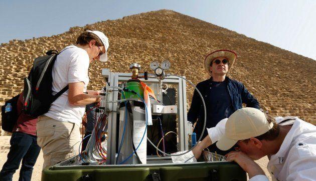 Le télescope à muons du CEA, qui fait partie du projet