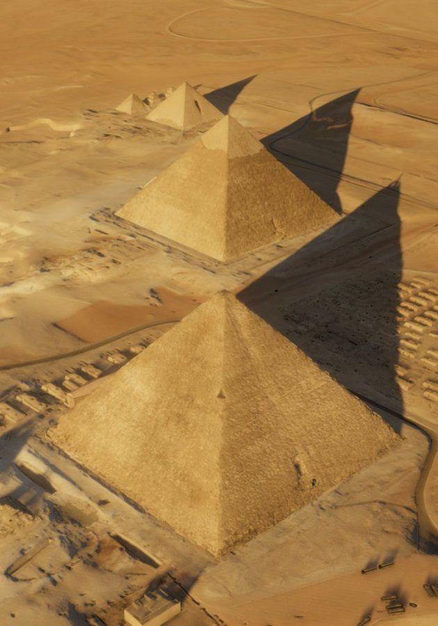 Dans la pyramide de Khéops, des chercheurs ont découvert un énorme