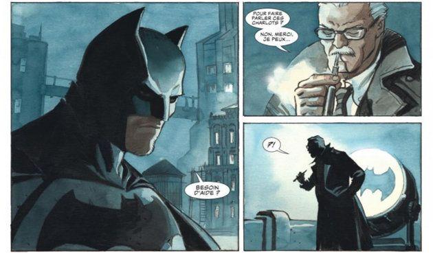 Batman, The Dark Prince Charming: Enrico Marini, dessinateur de la BD franco-belge, a eu le droit de...