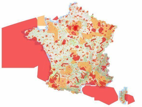 Vous avez reçu un drone à Noël? La carte de France des zones où vous pouvez le faire