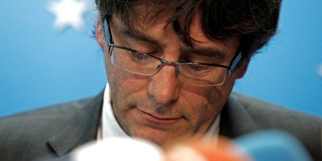 Carles Puigdemont visé par un mandat d'arrêt européen à la demande de