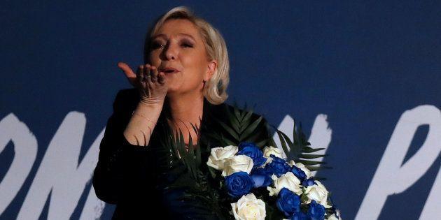 Marine Le Pen est un danger pour les droits des femmes en France. REUTERS/Christian