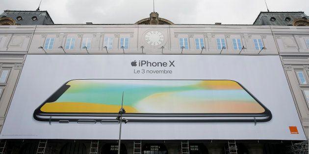 Pour la sortie de l'iPhone X, il va falloir mesurer les files d'attente devant les Apple