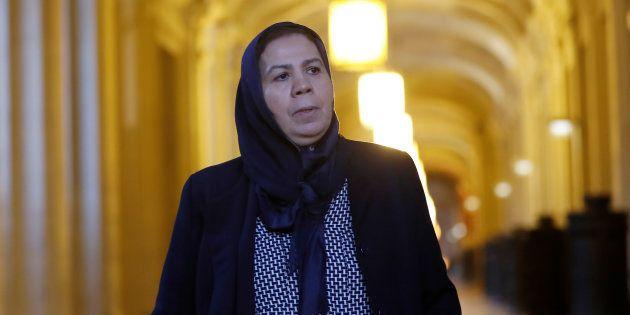 Latifa Ibn Ziaten, la mère d'une des victimes de Mohamed Merah, s'est