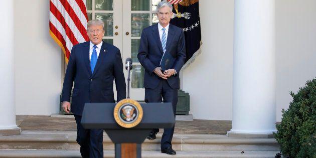 Trump n'a pas été très loin pour choisir le nouveau président de la