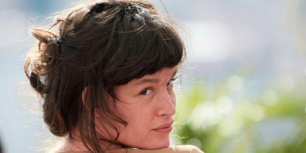 Paz de la Huerta au Festival de Cannes en