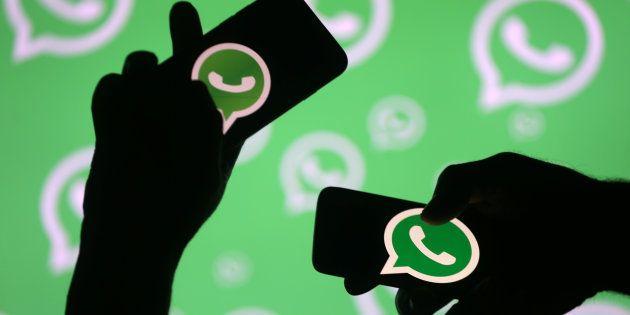 WhatsApp touché par une panne