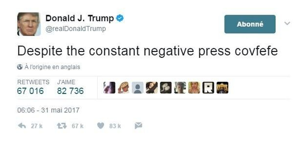Les 4 manies de Donald Trump sur Twitter qui en disent long sur sa manière de