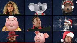 Jimmy Fallon chante Noël coincé entre Paul McCartney et Reese