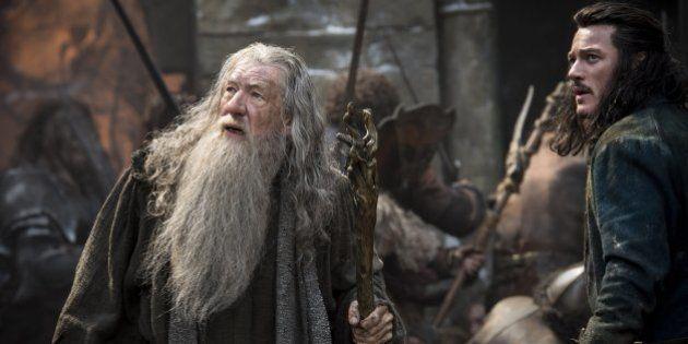 Ian McKellen dans le rôle de Gandalf