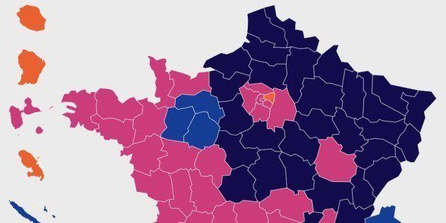 EN DIRECT. Ville par ville, les résultats de la présidentielle 2017 par commune, département et
