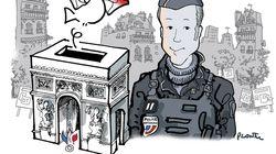 L'hommage touchant de Plantu à Xavier Jugele, le policier tué sur les