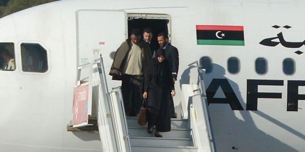 Un groupe d'otages libérés de l'A320 détourné à Malte vendredi 23 décembre par des pirates de l'air