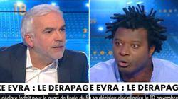 Le geste de Patrice Evra a entraîné un gros clash sur le plateau de