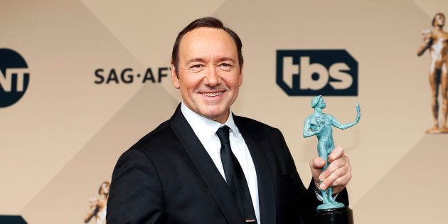 Kevin Spacey à Los Angeles le 30 janvier
