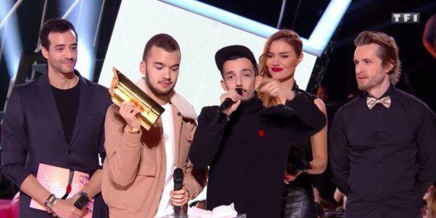 BigFlo et Oli sur la scène des NRJ Music Awards