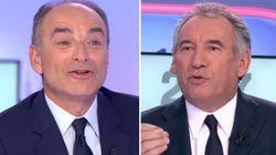 Copé et Bayrou s'écharpent sur le plateau de France