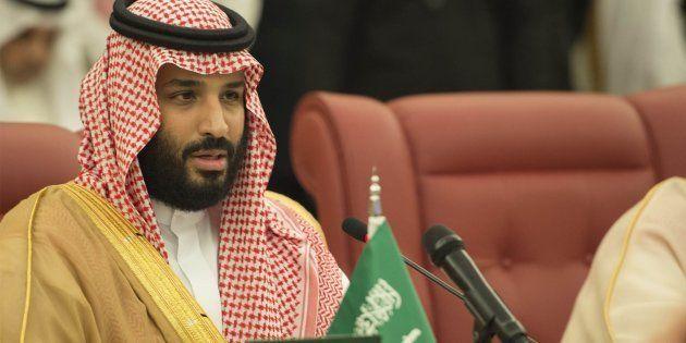 Le prince héritier d'Arabiesaoudite Mohammed ben Salmane le 24 août à