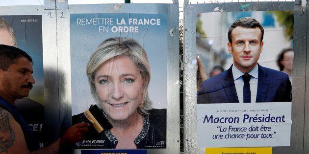 La surprise du 1er tour de la présidentielle...c'est qu'il n'y en a pas eu. REUTERS/Eric