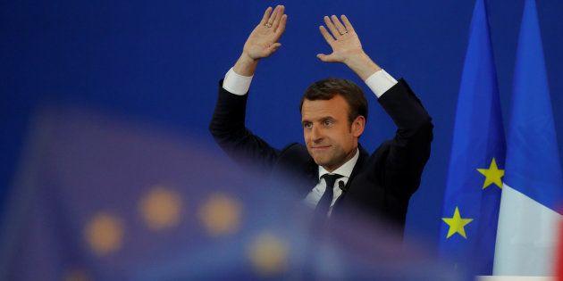 Emmanuel Macron a 15 jours pour convaincre la France qui doute. REUTERS/Philippe