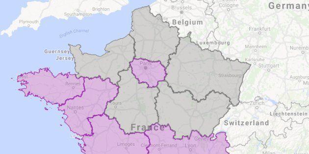 Résultats du 1er tour de la présidentielle: Région par région, quel candidat s'est