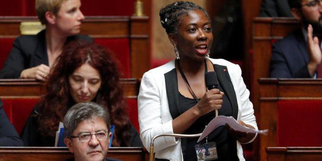 Danièle Obono à l'Assemblée