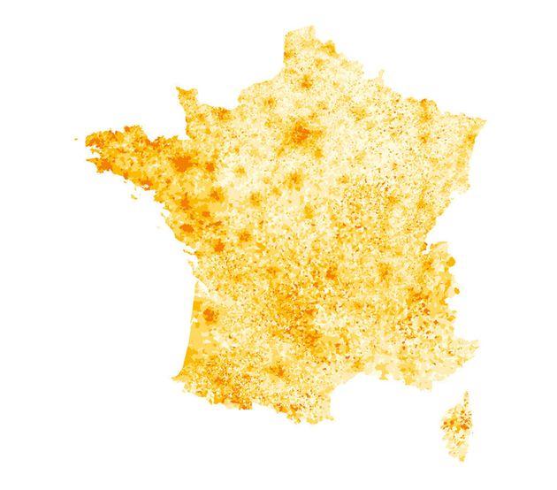 Résultats Macron - Le Pen : la carte des CSP correspond presque exactement à celle du