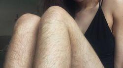 Pour acclamer sa beauté naturelle, cette blogueuse ne s'est pas rasée pendant un