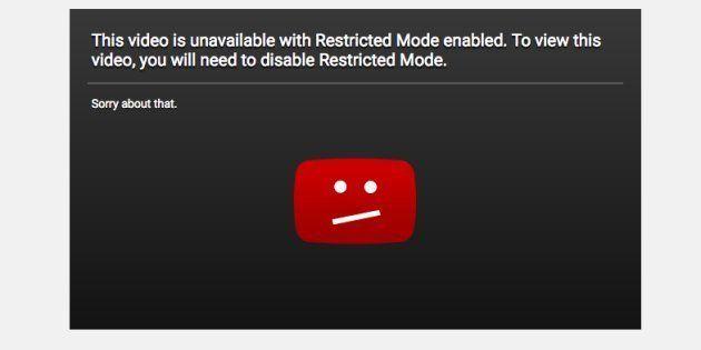YouTube corrige