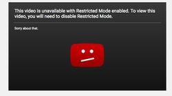 YouTube corrige son
