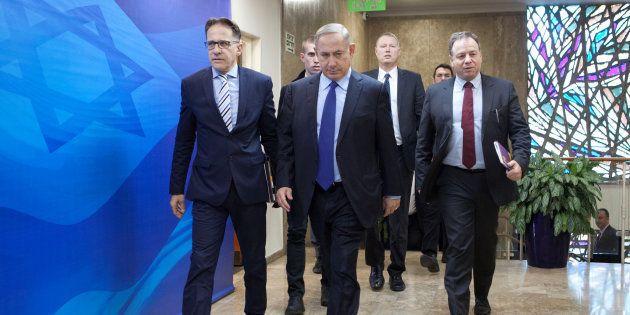Benjamin Netanyahyu, le 25 décembre