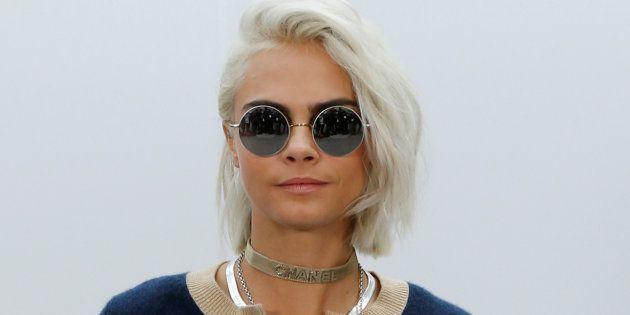 Cara Delevingne au défilé Chanel le 7 mars à