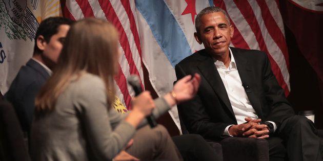 De retour, Barack Obama se donne comme mission de former la nouvelle génération de leaders
