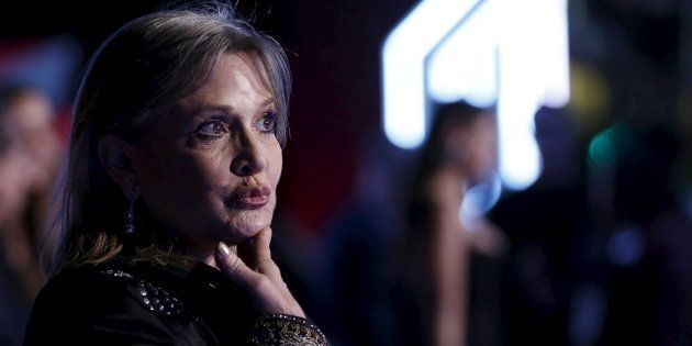 Carrie Fisher évoquait la mort il y a à peine un