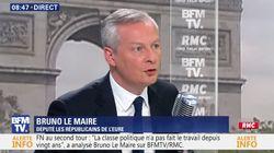 Bruno Le Maire prêt à travailler avec Emmanuel Macron (mais sous