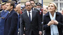 Le message très politique de Hollande à Macron et Le Pen lors de l'hommage à Xavier