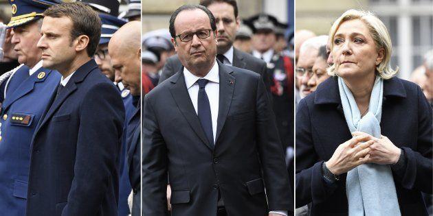 Le message très politique de Hollande à Macron et Le Pen lors de l'hommage national à Xavier