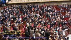 Ovation à l'Assemblée pour défendre